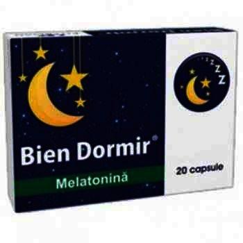 Bien Dormir Melatonina - cps. x 21 - Fiterman