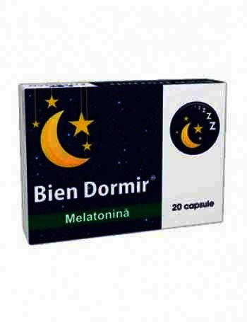 Bien Dormir + Melatonina x 20 - Fiterman