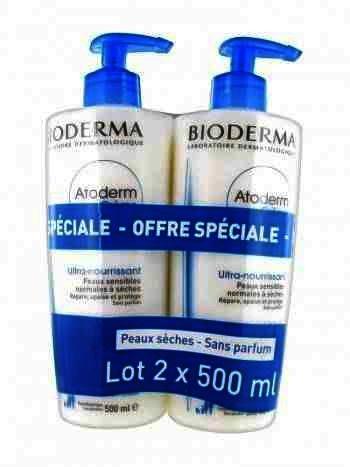 Bioderma Atoderm Crema Corp x 500 ml (1+1 70% Cadou )