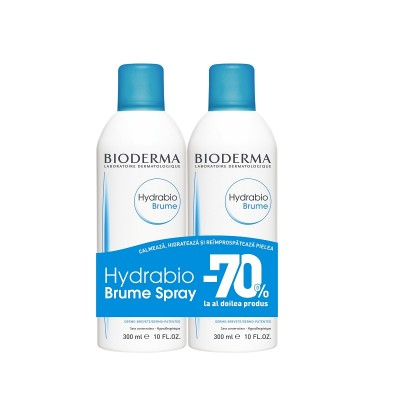 Bioderma Hydrabio Brume Spray x 300ml (1+1-70% Oferta)
