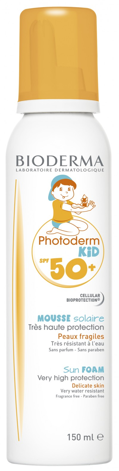 Bioderma Photoderm Kid Spuma SPF 50+ x 150 ml