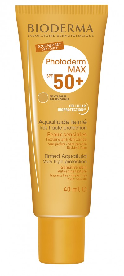 Bioderma Photoderm Max Aquafluide Doree SPF 50+ x 40 ml