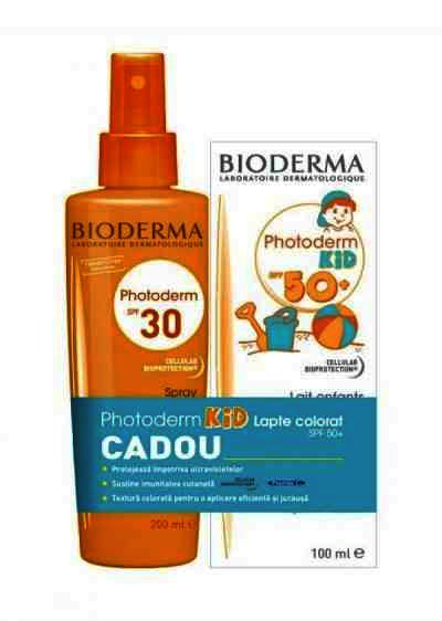 Bioderma Photospray SPF30 x 200 ml + Kid Lapte Cadou (Oferta)