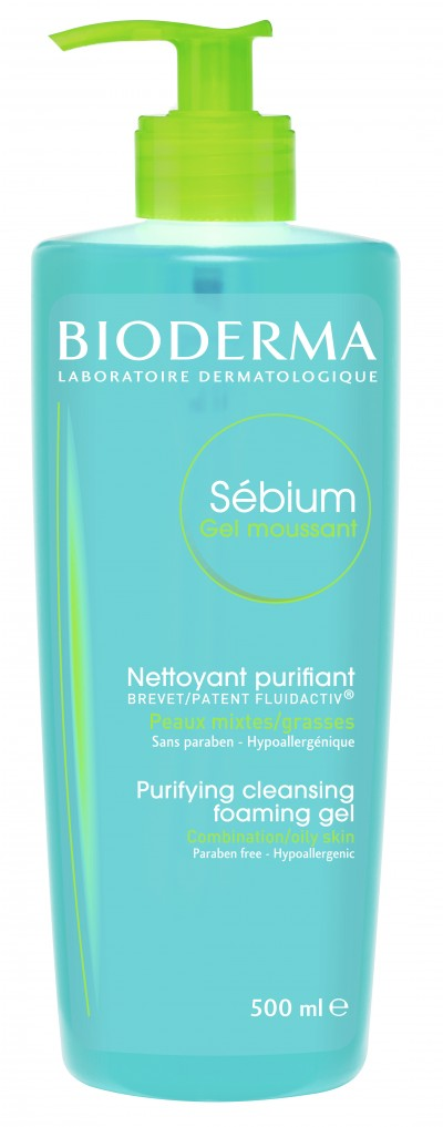 Bioderma Sebium Gel Spumant x 500 ml
