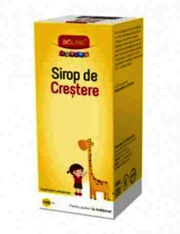 Bioland Junior Sirop de Crestere x 150 ml