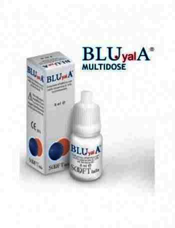 Biosooft Blu Yal -sol.oft x 8 ml (Hialuronat Sodiu 0.15%)