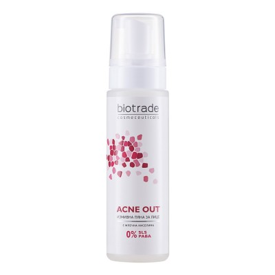 Biotrade Acne Out Spuma de Curatare x 150ml