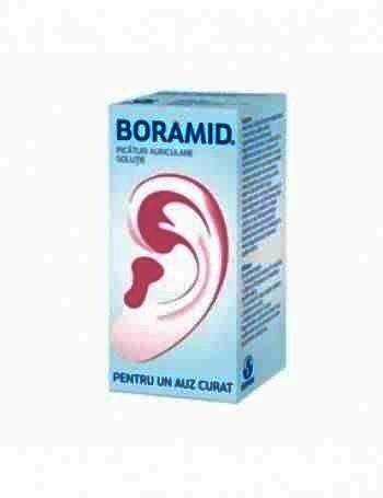 Boramid-sol.auriculara x 10ml -Biofarm