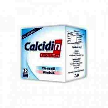 Calciu 1200mg + D3 -plc. x 20 - Remedia