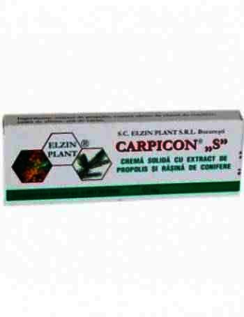 Carpicon S Supozitoare cu Propolis x 10 - Enzin Plant
