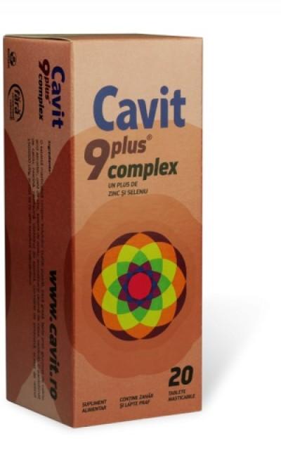 Cavit 9+ Complex -cpr.mast x 20 - Biofarm