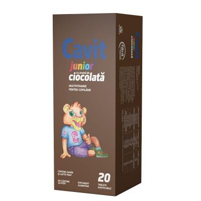 Cavit Junior Ciocolata -cpr.mast x 20 - Biofarm