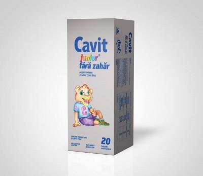 Cavit Junior (fara zahar) x 20 tb