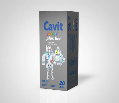 Cavit Junior Plus Fier - cpr.mast x 20