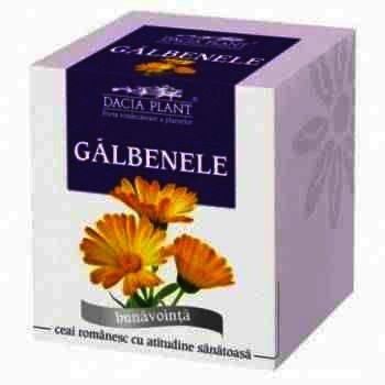 Ceai Galbenele x 50 g - Dacia Plant