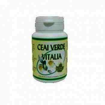 Ceai Verde 400mg-cps. x 30-Pharmex
