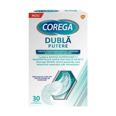 Corega Dubla Putere - tablete efervescente x 30