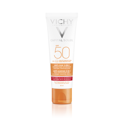 Vichy Capital Soleil Crema Antioxidanta Anti Rid 3in1 Spf50 50 Ml