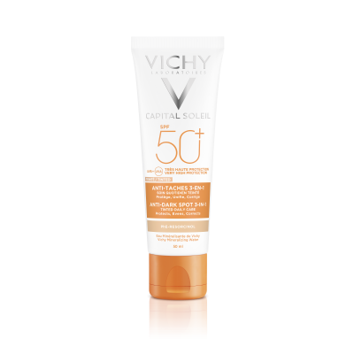 Vichy Crema Colorata Anti Pete Pigmentare Vichy Ideal Soleil Cu Spf50 50ml
