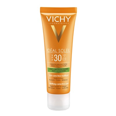 Crema corectoare matifianta 3in1 Vichy Ideal Soleil cu SPF30 50ml