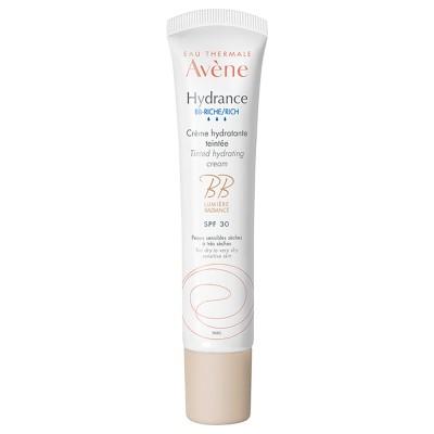Avene Hydrance Riche Teintee Crema Hidratanta UV, 40ml