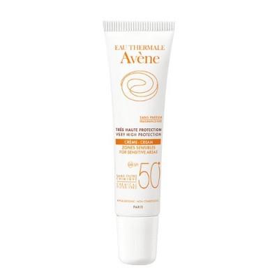 Avene Crema Protectie Solara Zone Sensibile SPF50+, 15ml