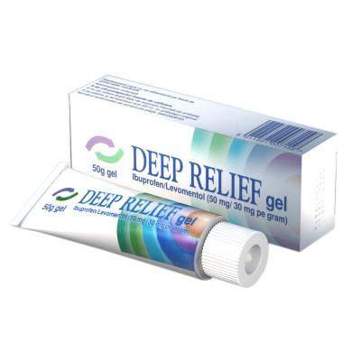 Deep Relief -gel x 50 g - Mentholatum