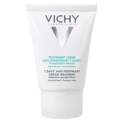 Vichy Deo Deodorant Crema Tratament Impotriva Transpiratiei Abundente Eficacitate 7 Zile 30ml