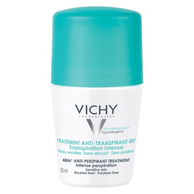 Vichy Deo Deodorant Roll On Antiperspirant Eficacitate 48h Cu Parfum 50ml