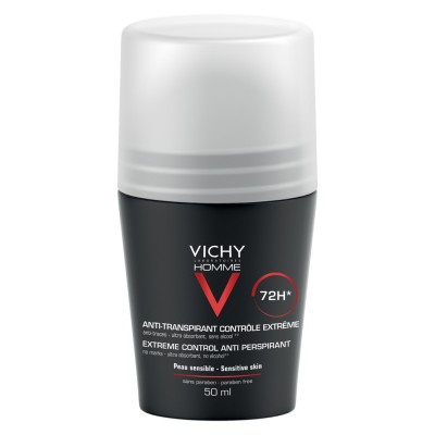 Vichy Homme Deodorant Roll On Control Extrem Eficacitate 72h 50ml