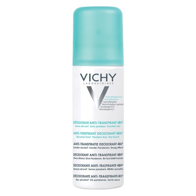 Vichy Deo Deodorant Spray Antiperspirant Fara Alcool Eficacitate 48h 125ml