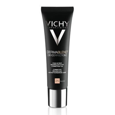 Vichy Dermablend 3d Fond De Ten Corector Imperfectiuni In Relief Acnee Semne Post Acneice Cicatrici Nuanta 25 30 Ml