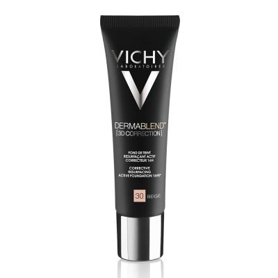 Vichy Dermablend 3d Fond De Ten Corector Imperfectiuni In Relief Acnee Semne Post Acneice Cicatrici Nuanta 30 30 Ml