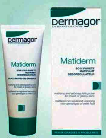 Dermagor Matiderm Crema Purifianta x 40 ml