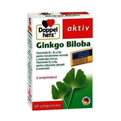 Doppel Herz Aktiv Ginkgo Biloba -tb x 60