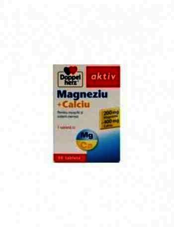 Doppel Herz Aktiv Magneziu + Calciu + Vit D3 -tb x 30