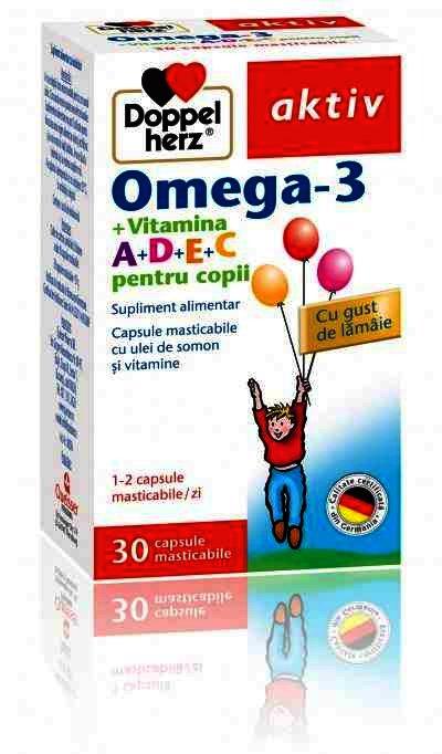 Doppel Herz Aktiv Omega 3 + ADEC Lamaie