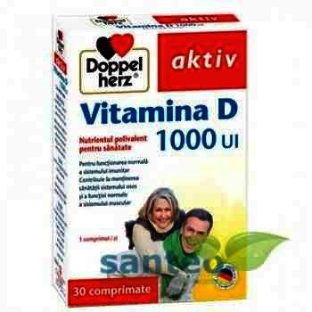Doppel Herz Aktiv Vit D 1000 UI Extra -cpr. x 45