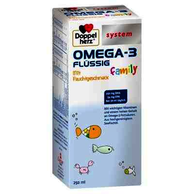 Doppel Herz System Omega 3 Family -sirop x 250 ml