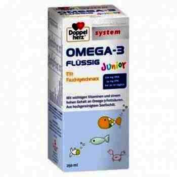 Doppel Herz System Omega 3 Junior -sirop x 250 ml