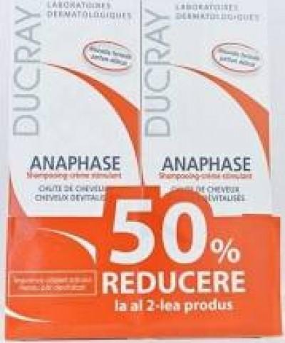 Ducray Anaphase Plus Sampon x 200ml (1+1x50% Oferta)