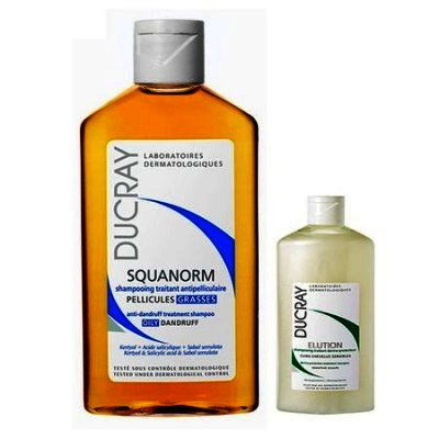 Ducray Squanorm Matreata Uscata x 200 ml + Elution x 30 ml