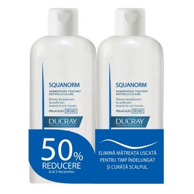 Ducray Squanorm Matreata Uscata x 200ml (1+1 x 50% reducere)