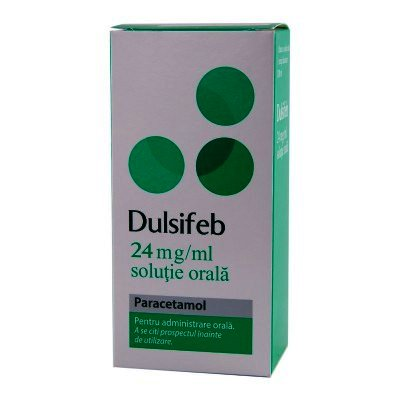 Dulsifeb 24mg/ml sol.orala x 100ml + ser.doz -Actavis