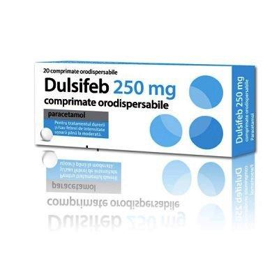 Dulsifeb 250 mg -cpr.orodisp. x 20 - Actavis