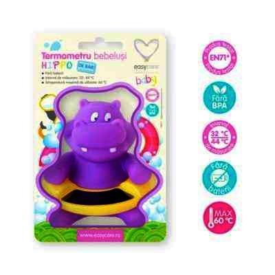 Easy Care Termometru de Baie Bebelusi Hippo