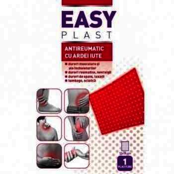 Easy Plasture Antireumatic cu Ardei Iute x 1