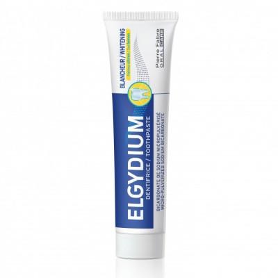 Elgydium Pasta de dinti albire cu aroma lamaie si menta Cool Lemon, 75 ml