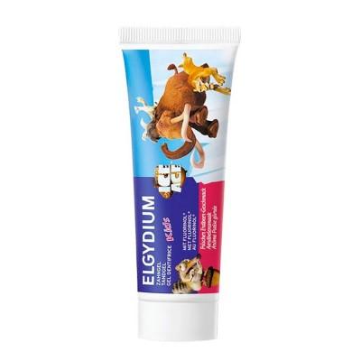 Elgydium Pasta de Dinti Kids Ice Age Capsuni x 50 ml