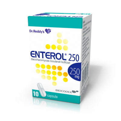 Enterol 250mg-cps. x 10-Lab Biocodex